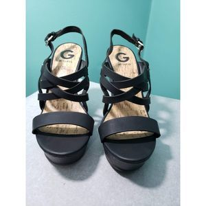 Guess Platform Shoes, Size 9.5
